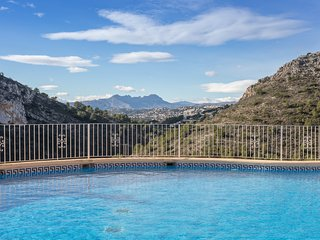 Self-catering apartment for up to 4 people near Javea on the Cumbre del Sol