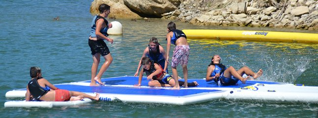 Plenty of water sports in the area for all the family!