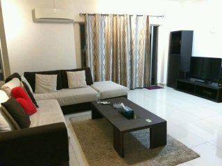 Room at comfy apartment in kuala lumpur