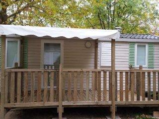 CAMPING DE RETOURTOUR 3 ETOILES : Mobile Home Confort 4/6 personnes