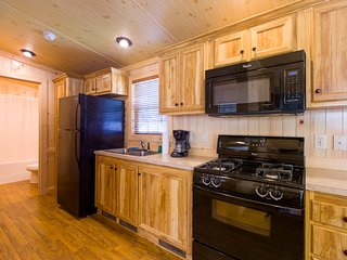 Two Bedroom Family Cottage at Sunset Lakes RV Resort in Hillsdale