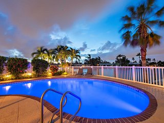 Enjoy the Million Dollar Waterfront View from Poolside at Your Own Private Resor