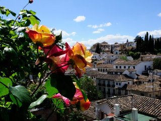 7 days yoga retreat at the feet of the Alhambra in Granada, Spain