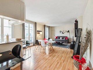 Cozy 1bd near Montparnasse for 4p