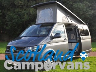 Luxury VW Campervan Rental in Scotland
