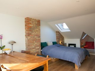 Lovely loft room in Hackney, east London