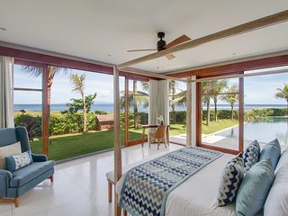 AN ABSOLUTE BEACHFRONT 4 BEDROOMS LUXURY VILLA