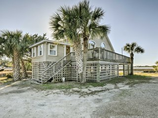 Waterfront Crawfordville Home on Live Oak Island!
