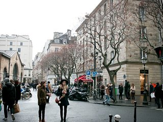 MARAIS SENSATION-FEEL THE CITY HEARTBEAT !WALK TO RIVER SEINE-LUXURY & STYLISH!