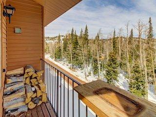 Rustic, dog-friendly mountain getaway w/shared pool, sauna, & more!