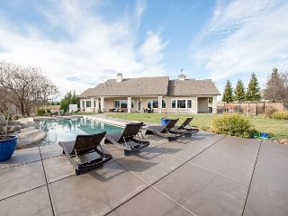 Frontier Farmhouse - Luxe 6BR on 5 Acres w/ Pool, Game Room & Outdoor Living