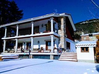 Gran Casa rural para grupos en la Sierra de Madrid
