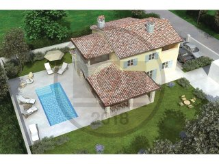 4 bedroom Villa in Muntic, Istria, Croatia : ref 5571502