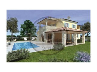4 bedroom Villa in Muntić, Istria, Croatia : ref 5571502