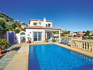 3 bedroom Villa in Benitachell, Valencia, Spain : ref 5537803