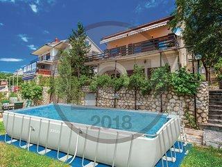 4 bedroom Villa in Dramalj, Primorsko-Goranska Zupanija, Croatia : ref 5520991