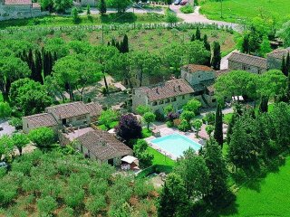 2 bedroom Villa in Colle di Val d'Elsa, Tuscany, Italy : ref 5241127