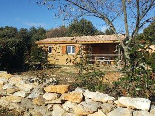 Chalet bois - La Petite Maison derrière les Buis