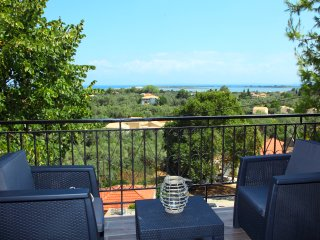 Sea view apartment near lefkada town