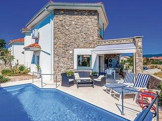 2 bedroom Villa in Krk, Primorsko-Goranska Zupanija, Croatia - 5521194