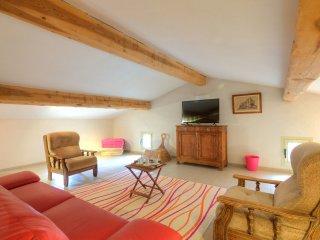 5 bedroom Villa in Le Barroux, Provence-Alpes-Cote d'Azur, France : ref 5514304