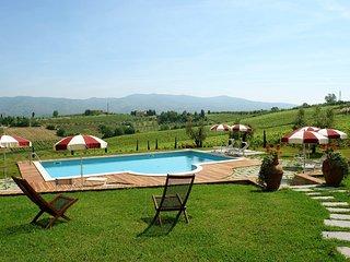 4 bedroom Apartment in Toiano, Tuscany, Italy : ref 5518274