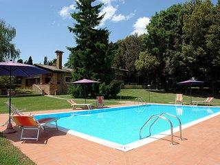 6 bedroom Villa in Camporbiano, Tuscany, Italy : ref 5513135