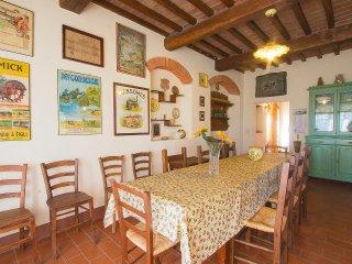 6 bedroom Villa in Potassa, Tuscany, Italy : ref 5557533