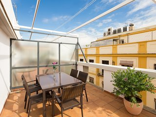 San Vicente Terrace. 2 bedrooms, 2 bathrooms, terrace, free parking