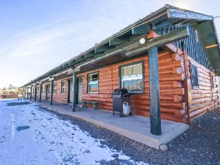 Five-cabin property w/ shared hot tub - skiers, hikers, anglers & dogs welcome!