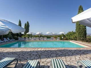 4 bedroom Apartment in Villa A Sesta, Tuscany, Italy : ref 5055525