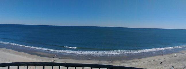 Seriously panoramic views! . . .