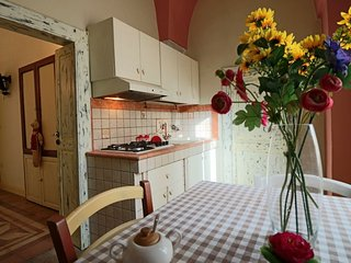 Holiday home Bilo al Piano in a renovated 18th century mansion in the medieval