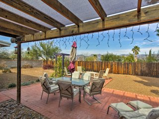 NEW! 4BR Tucson House w/ Mtn Views & Fire Pit!
