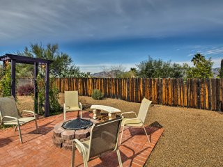 Tucson House w/ Mtn Views & Fire Pit Near Hiking!