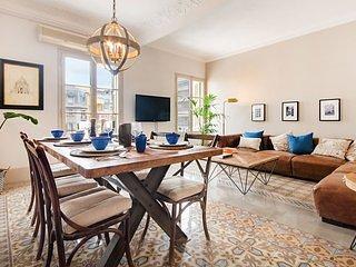 Stylish Mediterranean Apartment close to Plaza Espanya - B371