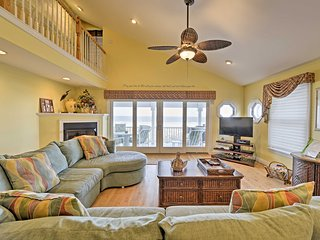 NEW! Beachfront 5BR Sea Isle City Townhome-6 Decks
