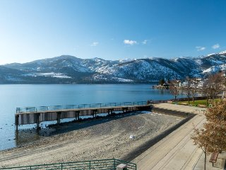 Lakefront family-friendly home w/ patio, lake views, and shared dock access