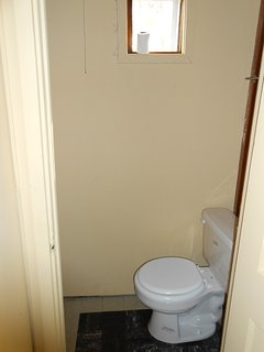 Toilet in Loon Cottage