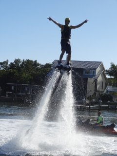 Flyboarding for the adventurous