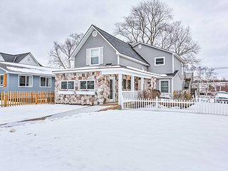 NEW! Cozy 3BR Beulah House- Steps to Crystal Lake