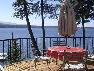 Lakefront luxury home with stunning views, private dock, and peaceful location!