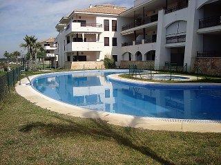 Apartamento 1 dormitorio, piscina, padel, wifi, cerca playa