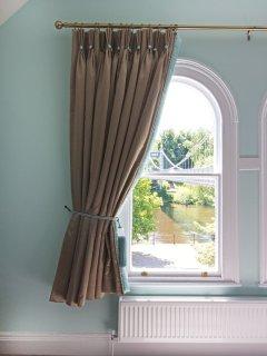 Wonderful original windows overlooking the River Dee