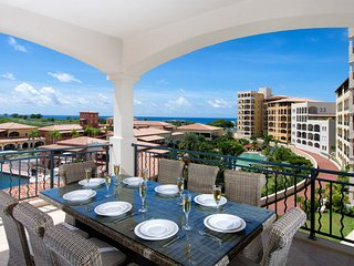 AQUA VUE... IRMA SURVIVOR!!! Rare 4BR at Porto Cupecoy! Huge Gym, Heated Pool, T