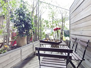 Apartment for Erasmus students in the centre of Barcelona with terrace