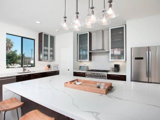 Newly Built,Modern,4BD,floor to ceiling views, just a few steps from the water.