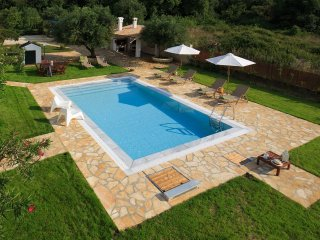 Brand new luxury villa close to the virgin beach and among olive trees!