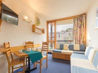 Studio 3/4 personnes avec balcon, résidence Armoise