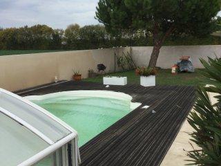 Maison 4 personnes avec piscine privee
